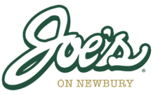 Joe's on Newbury logo